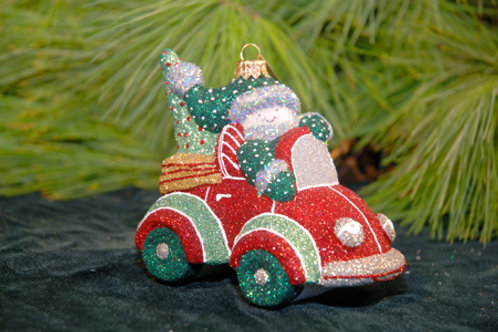 Red Christmas Cruisin' / W