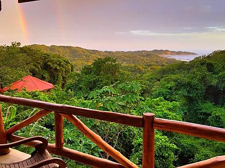 destination wedding costa rica balcony view Tierra Magnifica