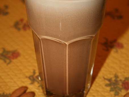 Chocolate Almond Frosty