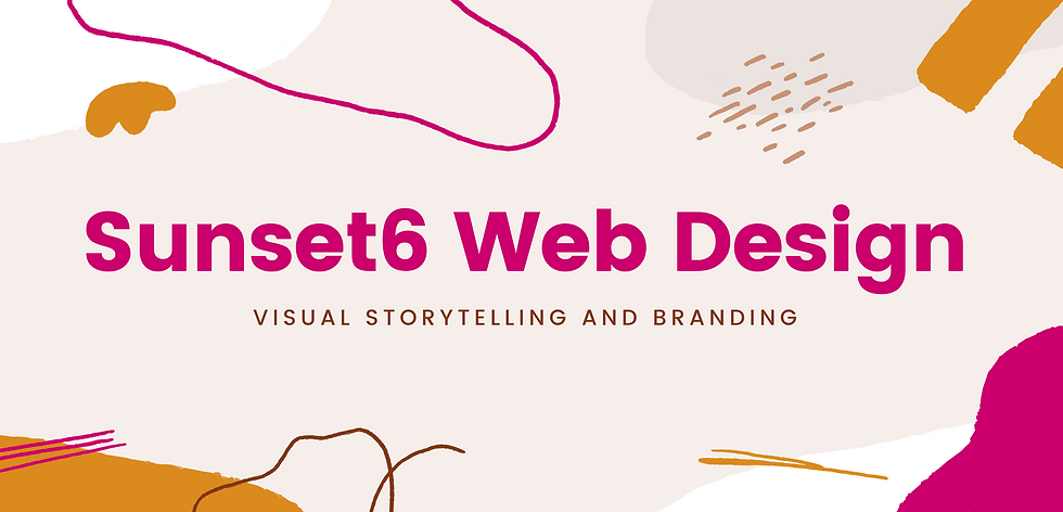 Beige, Pink and Gold Visual Storytelling