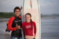 Surf Lessons Spanish Family Camp Tierra Magnfica
