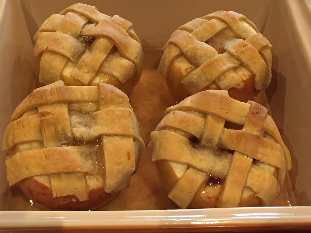 Apple Pie Baked Apples