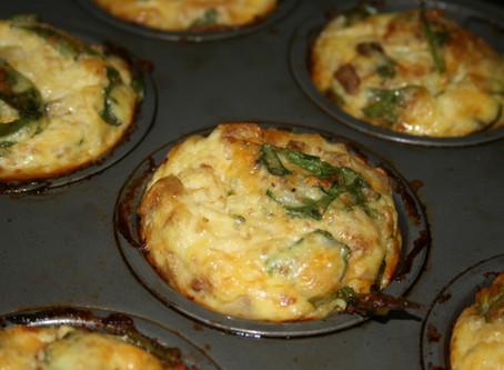 Anytime Mini Strata Muffins