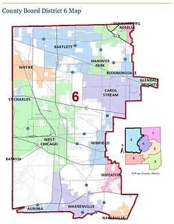 Vote for Bob Larsen, Dist 6 DuPage County Board