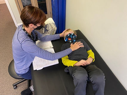 cranial sacral therapy Integrative Manual Therapy Pediatric Occupational Therapy Sensory Integration Neuro-Developmental Therapy Reflex Integration
