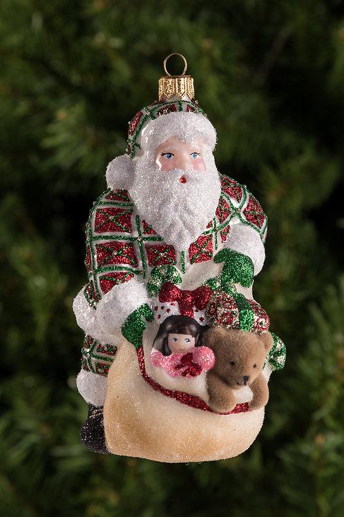 Santa's Got the Goods - Plaid / W