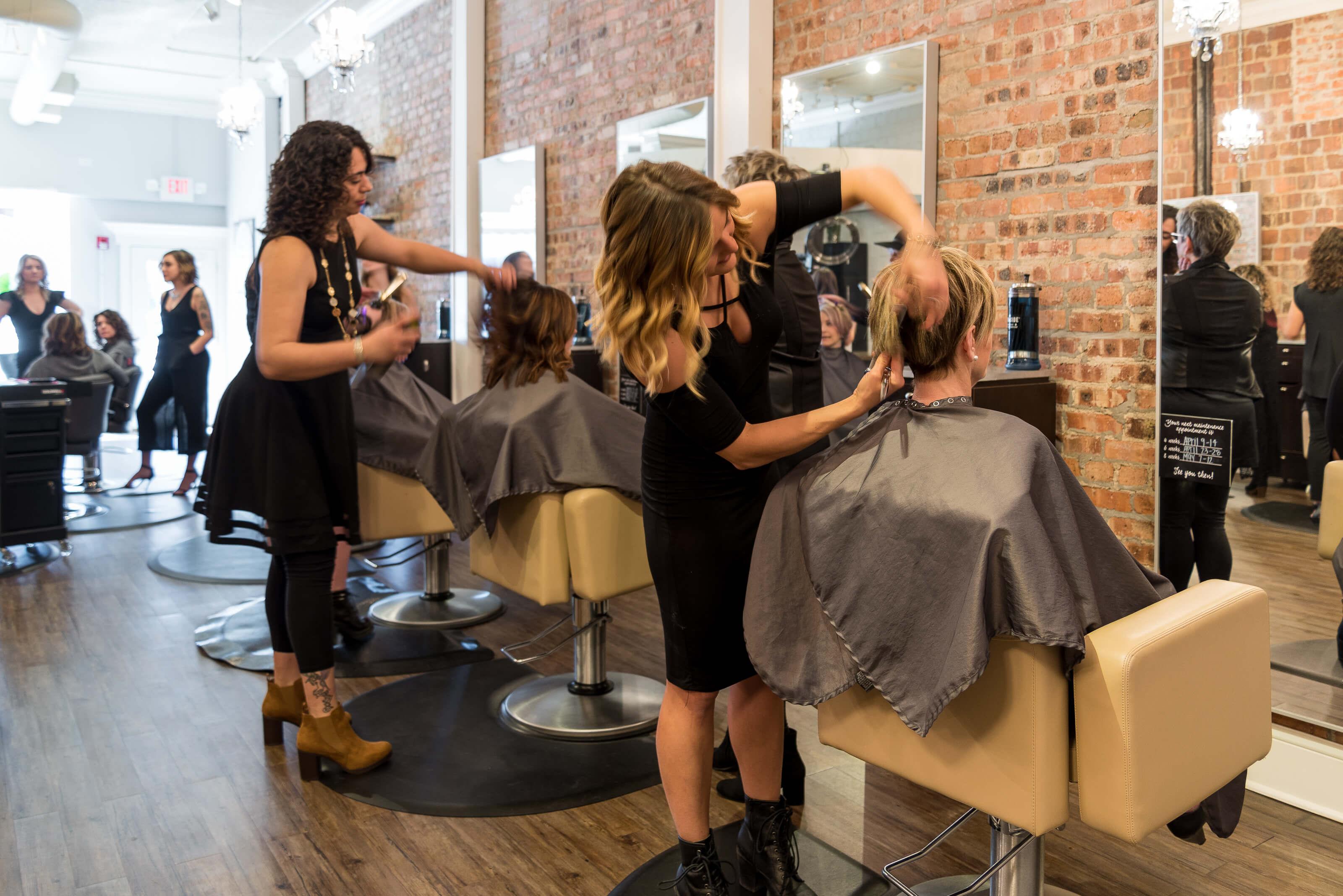 hair salon Fringe A Boutique Salon