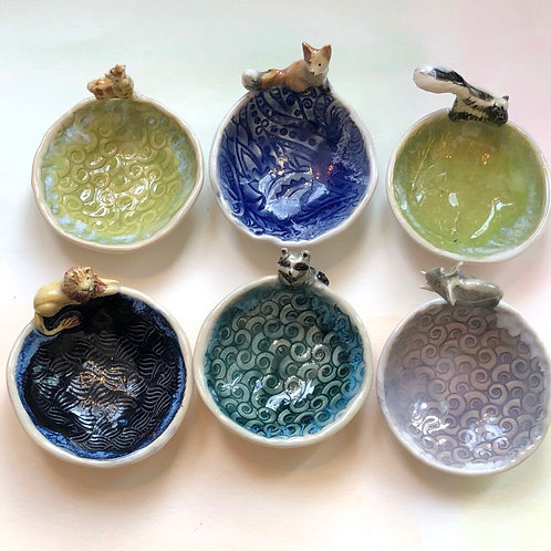 Artisan Ring Dishes- Other Animals