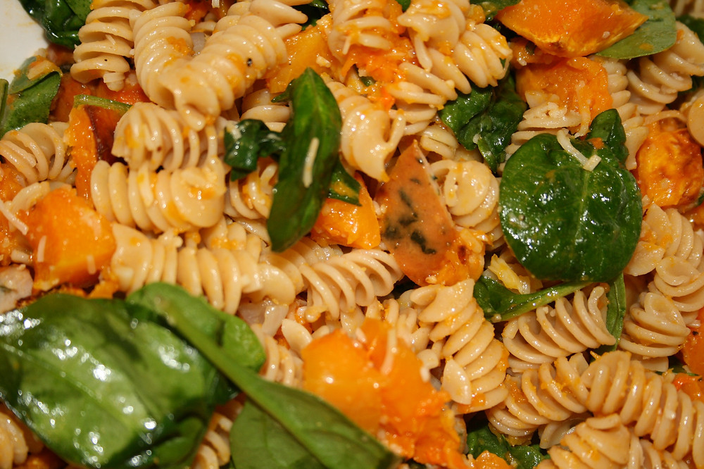 Roasted Butternut Squash pasta Bowl
