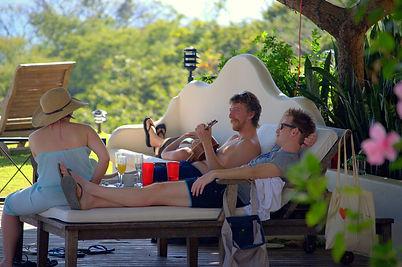 relaxing Costa Rica