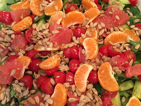 Citrus Salad with Baby Greens