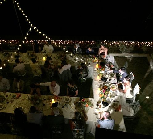Wedding reception at Tierra Magnifica