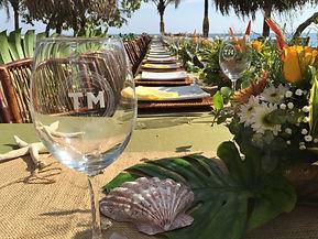 Wedding reception Tierra Magnifica