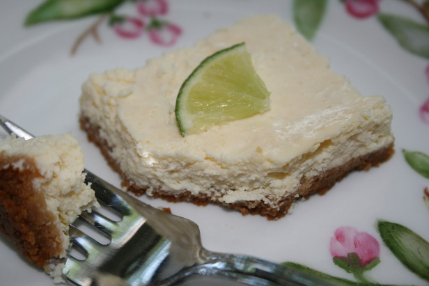 Light Lime Cheesecake Squares