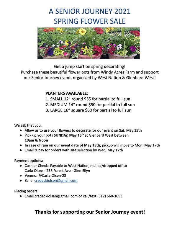 Final - West Nation Flower Sale Flyer 20