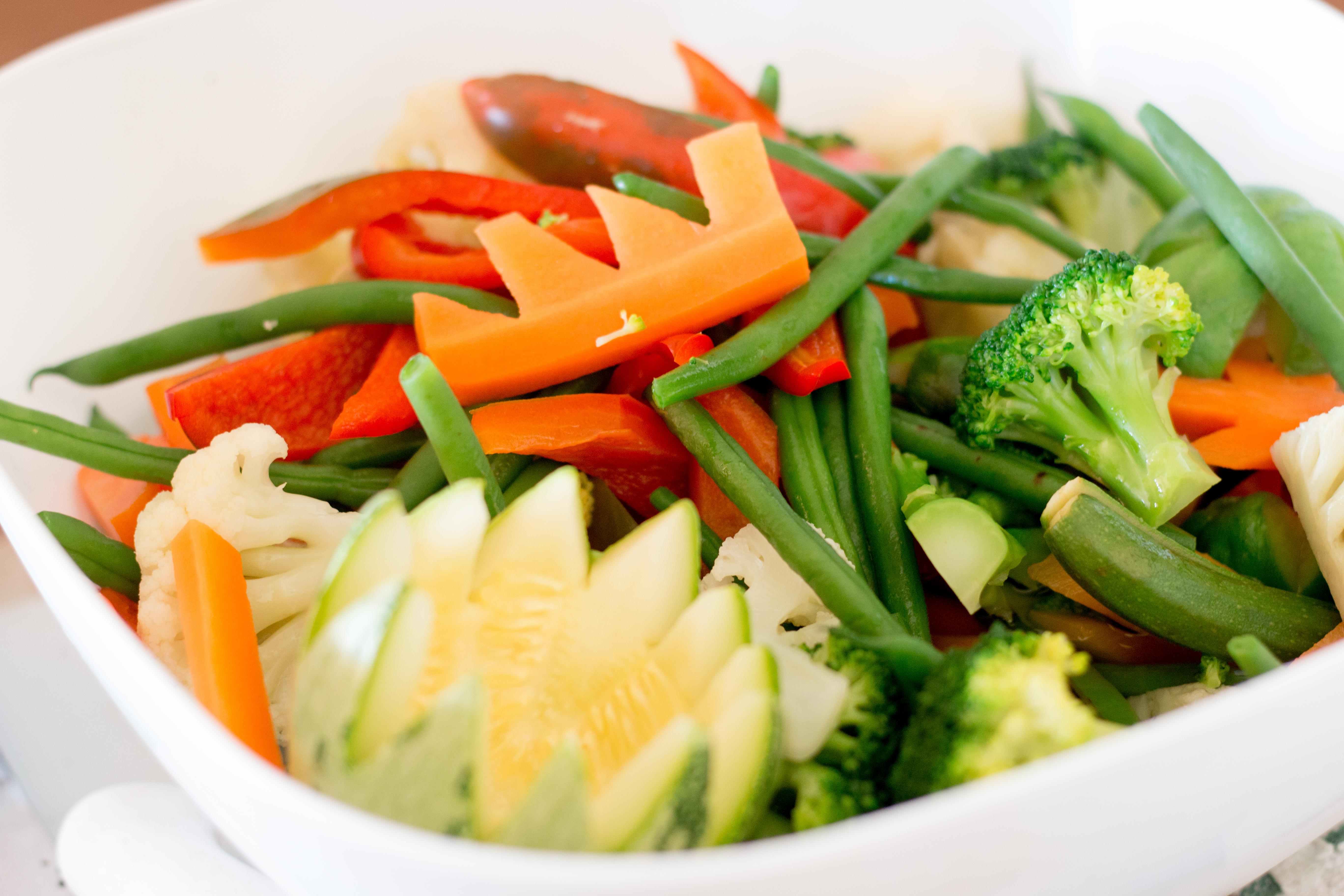 Crisp vegetables