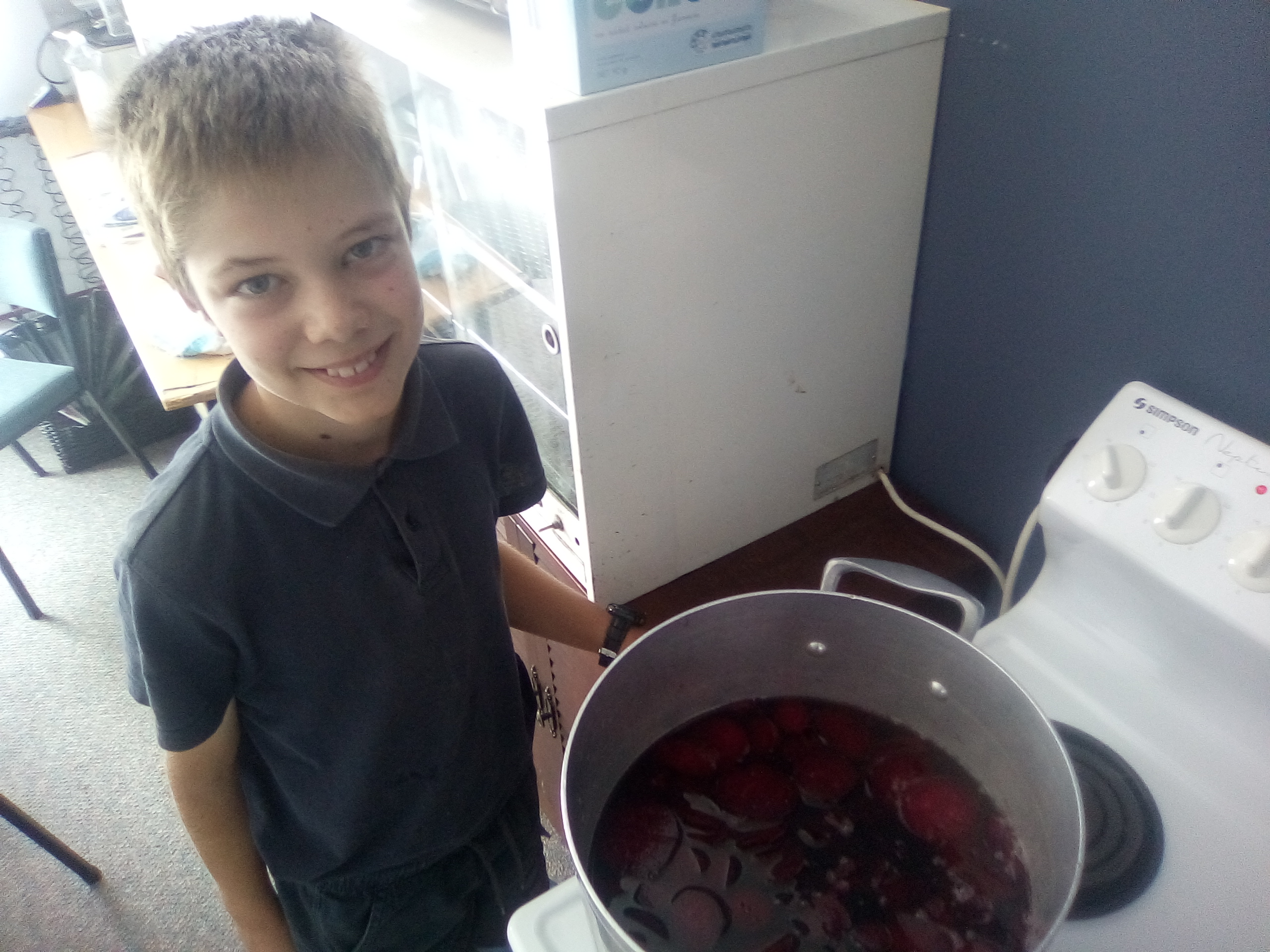 Luke - beetroot preserving