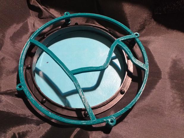 Estructura de sujeción del disco/filtro