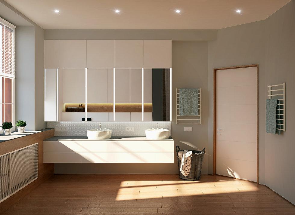 проект дизайн интерьера калининград дизайнер архитектор квартира дом ремонт строительство стройка санузел ванная archduet.com