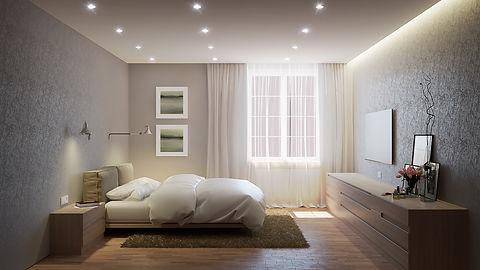 проект дизайн интерьера калининград дизайнер архитектор квартира дом ремонт строительство стройка спальня archduet.com
