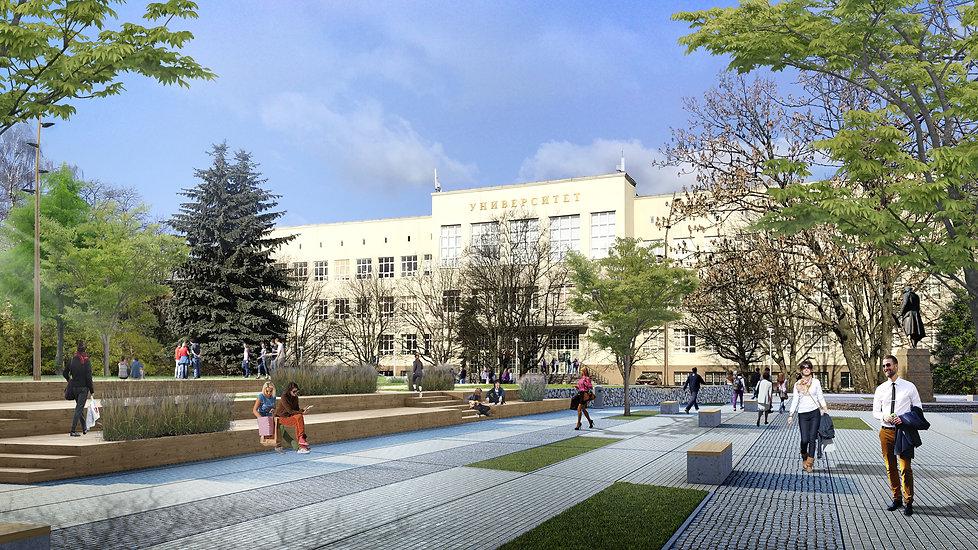 проект благоустройство архитектура калининград дизайнер архитектор строительство archduet.com