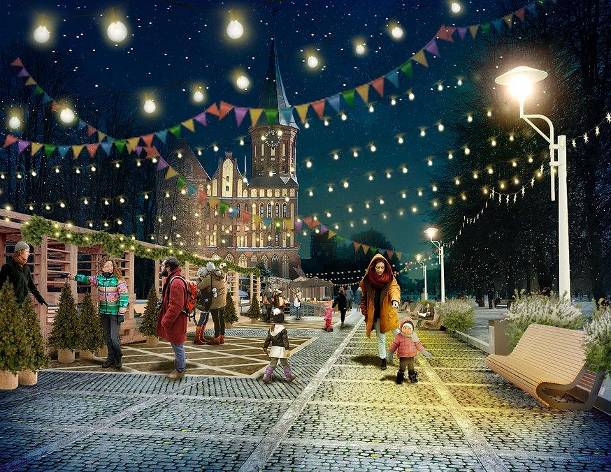 проект благоустройство архитектура калининград дизайнер архитектор строительство концепция archduet.com