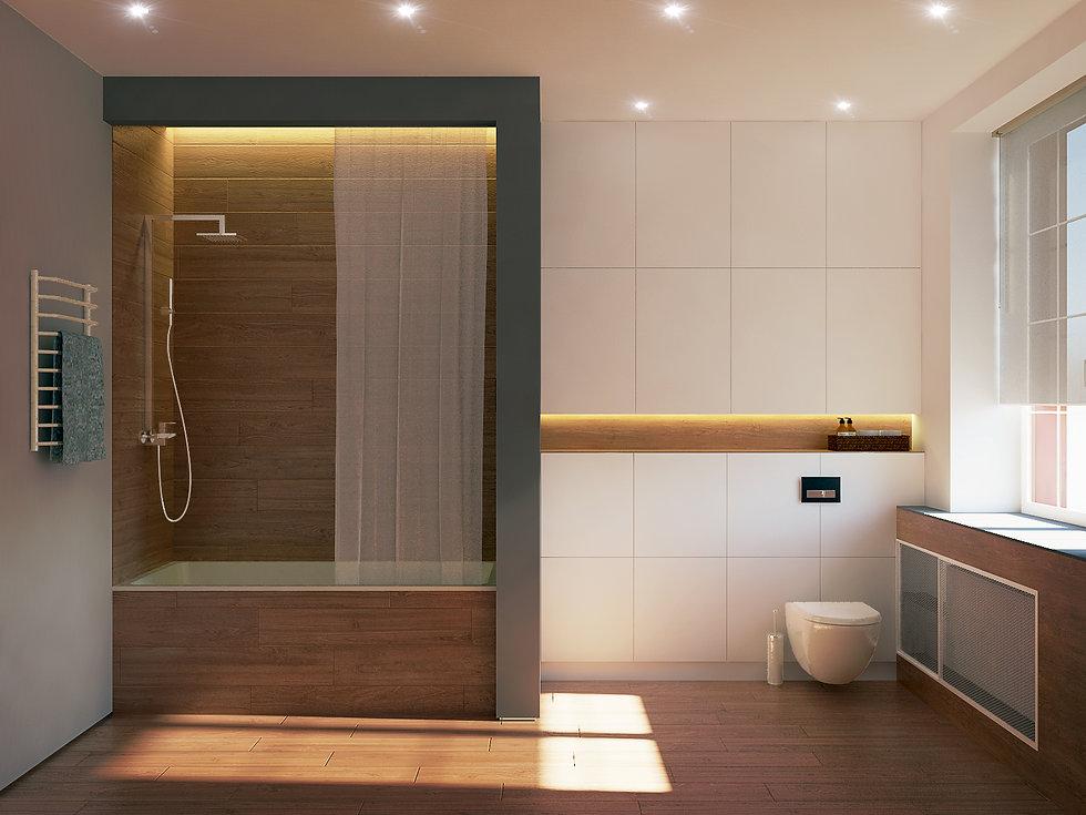 проект дизайн интерьера калининград дизайнер архитектор квартира дом ремонт строительство стройка ванная санузел archduet.com