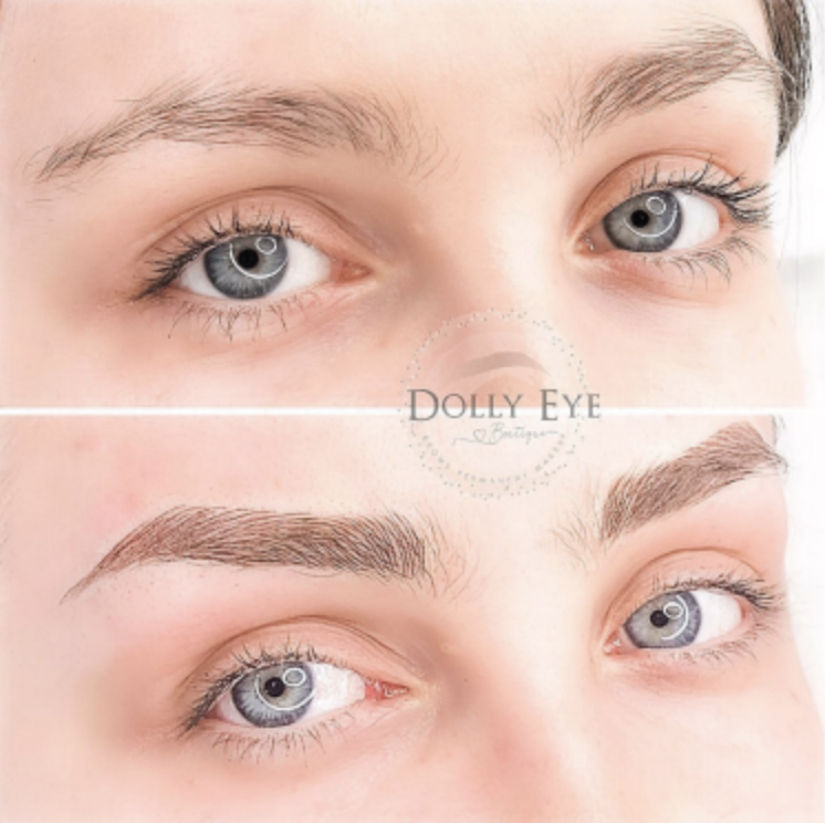 Microblading The Before And After Updated 2021