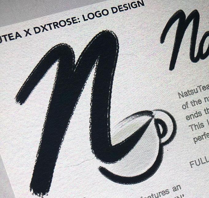 NATSUTEA Logo Design