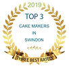 swindon top 3 cake maker award for 2018 / 2019