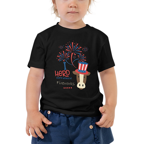 I Herd - Fireworks Toddler Tee
