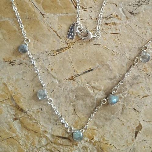 Delicate Labradorite Necklace