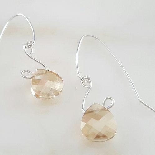 Gold Briolette Earrings