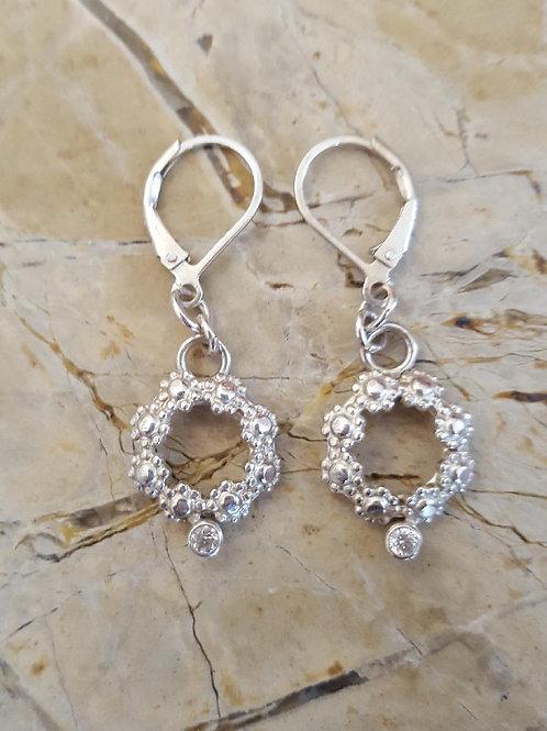 Silver Floret Earrings