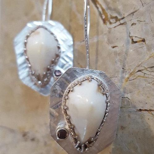Elk Ivory Earrings