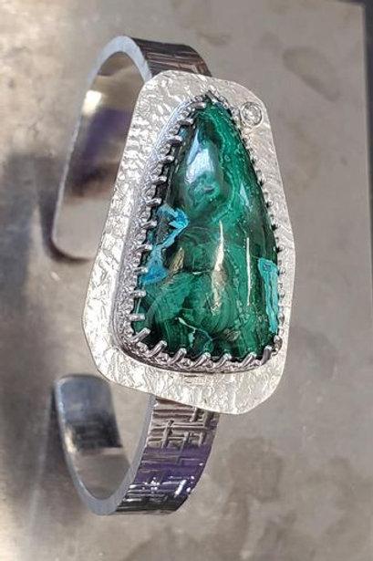 Malachite Azurite Bracelet