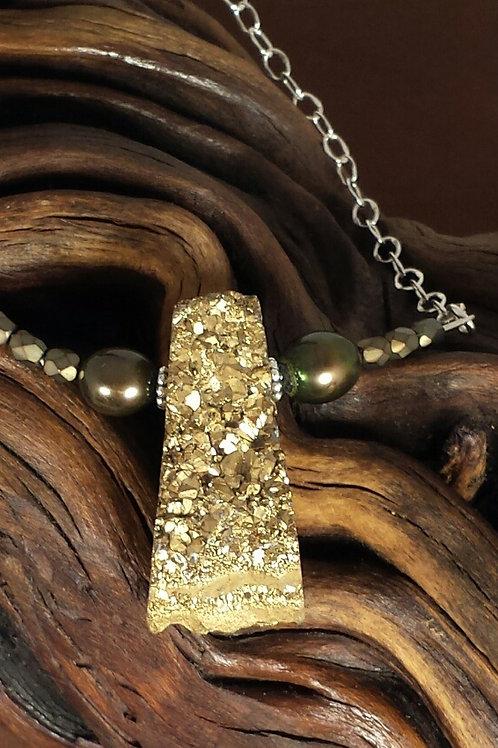 Pyrite Necklace