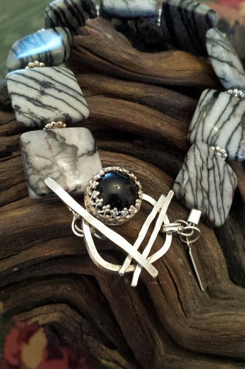 Sterling Onyx Bracelet