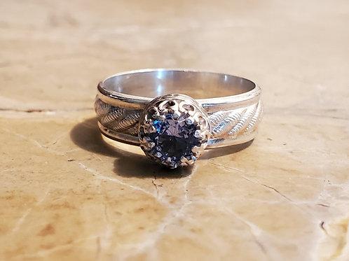 5 mm Aquamarine Ring