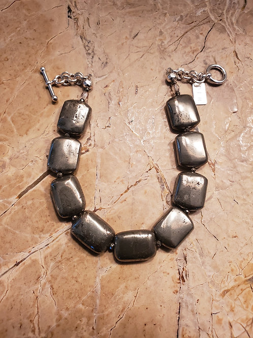 Pyrite Bracelet 12x10 mm