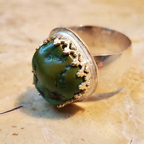 Tibetan Turquoise Ring