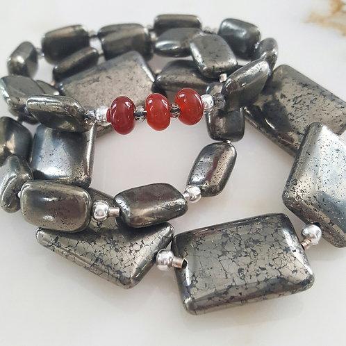 Pyrite Stretch Bracelets (3)