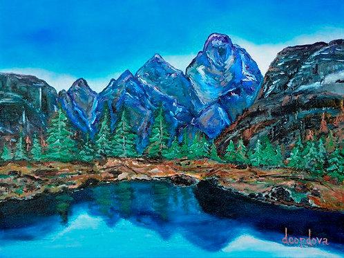 Grand Teton National Park oil paintings
