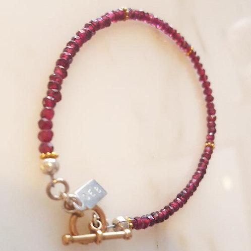 Rhodolite Bracelet