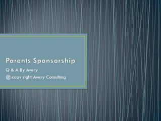 Parents Sponsorship 21 Q&A