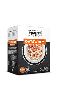 Protein Gusto -Oat & Whey with Fruits