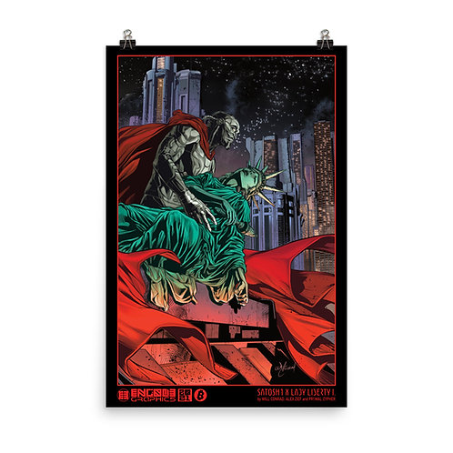 SATOSH1 x Lady Liberty I. (night version)