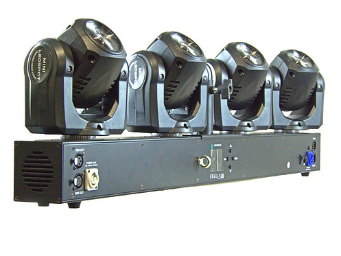 iC - COLOR 4X30W Moving Head Bar