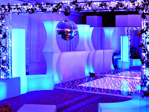LED Starlit Dancefloor