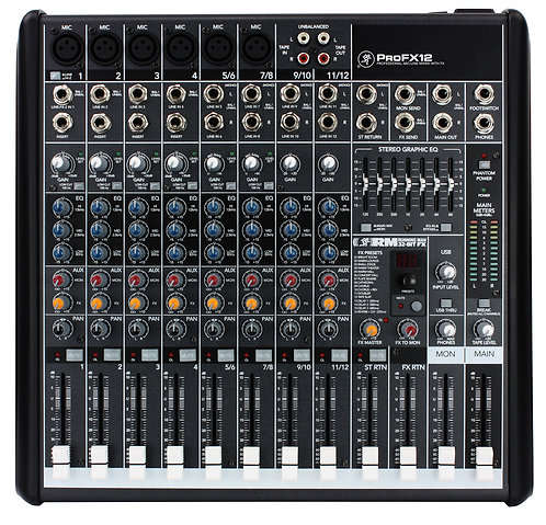 Mackie Pro FX12 Mixer